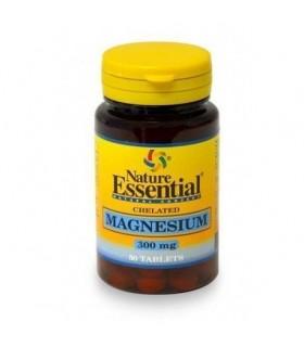 magnesio 300mg 50 tabletas nature essential
