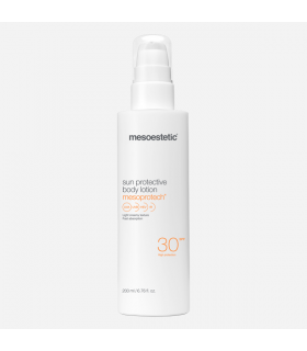 mesoprotech sun protective body lotion Mesoestetic