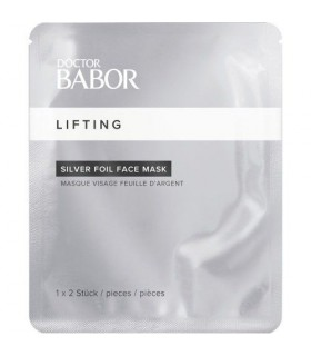 Customized Silver Foil Face Mask Dr Babor